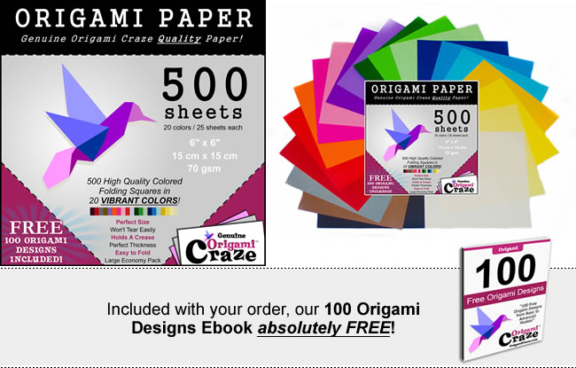 origami craze products